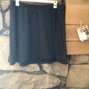 Old Navy Gray Skater Skirt